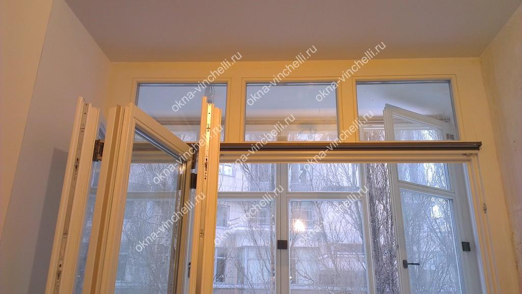 Теплое остекление лоджий и балконов, утепление лоджий - окна.