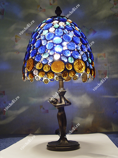 Лампа с витражом Tender