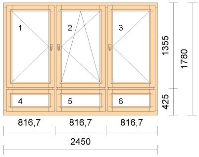 Шумоизоляционное окно Acoustic