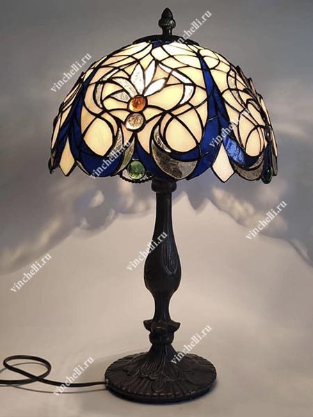 Лампа с витражом Retro