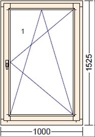 Дуб Moderno PO-4