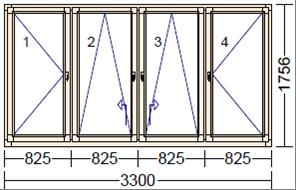Дуб BLKN-5