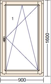 Дуб Moderno PO-1